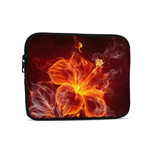 Fire Flower Tablet Bag, Premium Universal Sturdy Shockproof Laptop Sleeve, Notebook Case Protective Handbag Fit 7.9'/9.7' Tablets/Ipads/Readers