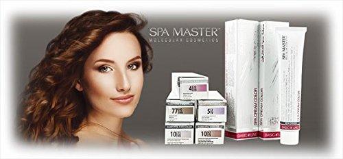 Permanenter Haarfarbstoff Spa Master 100 ml (4.12 Asche violett braun)