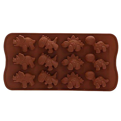 LANGING Silikon-Form Dinosaurier Schokolade Kuchen Gelee EIS Backen