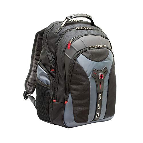 "Wenger/SwissGear 600639 maletines para portátil 43,2 cm (17"") - Funda (Funda Tipo Mochila, 43,2 cm (17""), Tirante para Hombro, 2,1 kg, Negro, Gris)"