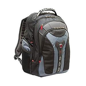 "41sclAawlBL. SS300  - Wenger/SwissGear 600639 maletines para portátil 43,2 cm (17"") - Funda (Funda Tipo Mochila, 43,2 cm (17""), Tirante para Hombro, 2,1 kg, Negro, Gris)"