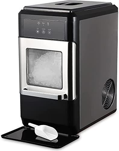 Northair Countertop Nugget Ice Maker 44lbs Per Day with a Ice Scoop