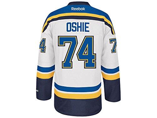 Reebok NHL Eishockey Trikot Jersey Premier St. Louis Blues TJ Oshie #74 weiß (M)