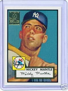 1996 Topps Mickey Mantle Complete Baseball Card Set (19 Mickey Mantle Cards). Includes the Highly Sought After Rookie 1952. These Are Very Collectable Cards Issued in 1996