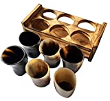 Handcrafted Medieval Authentic Viking Drinking Horn Mug Ale Beer Glasses Ceremonial Mead Vessel