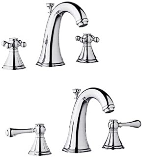 Grohe Geneva 20801BE0 Two Handle Widespread Lav Faucet