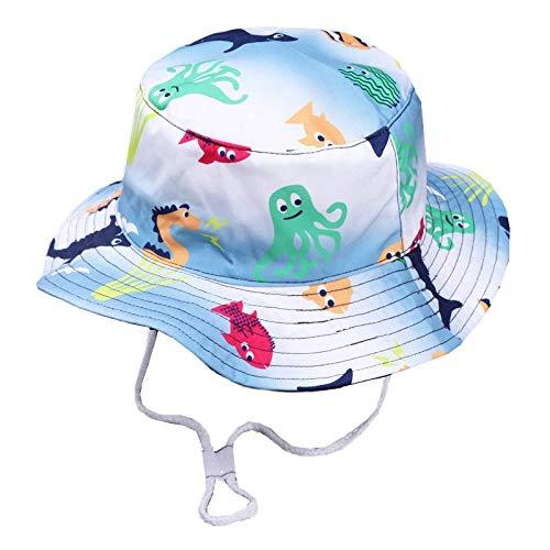 Guiping Baby-Mütze für Mädchen und Jungen, aus Baumwolle, Cartoon-Oktopus-Mütze,...