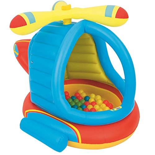 LANKOULI Family Pool Deluxe rechteckig aufstellpool Rainbow Ring playcenter planschbecken Jahre oval Whale Baby pilz babypool Box Aquarium aufblasbare Pools (31)