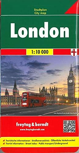 London, Stadtplan 1:10.000 (freytag & berndt Stadtpläne)