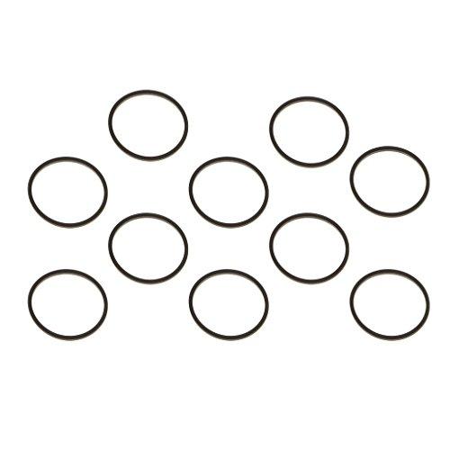 Sharplace Kit 10 Courroies d'Entraînement Carrées de Rechange pour Réparation de Lecteurs DVD Optiques XBOX 360