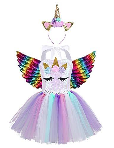 Compra Disfraz Unicornio Niña Tutu Online La Guía Del