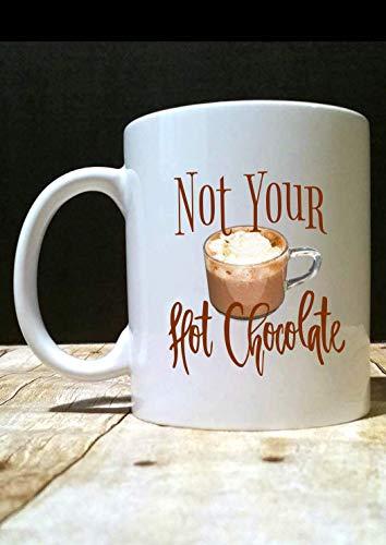 Niet uw hete chocolade mok koffie mok uit met Bill Hot cacao zwart is mooie drop O39Reilly vervelende vrouw politieke mok Trending