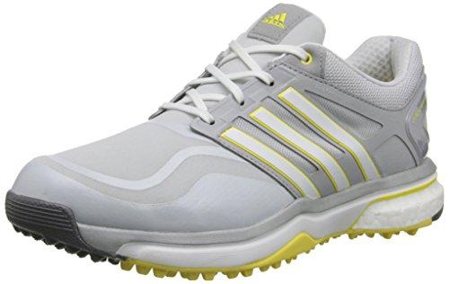 adidas Women's W Adipower S Boost-W, Clear Grey/Running White/Light Yellow, 8.5 M US