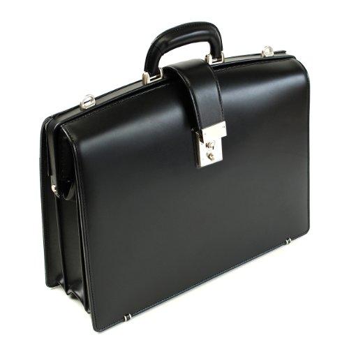 LuggageAOKI 青木鞄 LuggageAOKI1894 Genius ダレスバッグ ドクターバッグ 日本製 本革 ブラック 2558-10