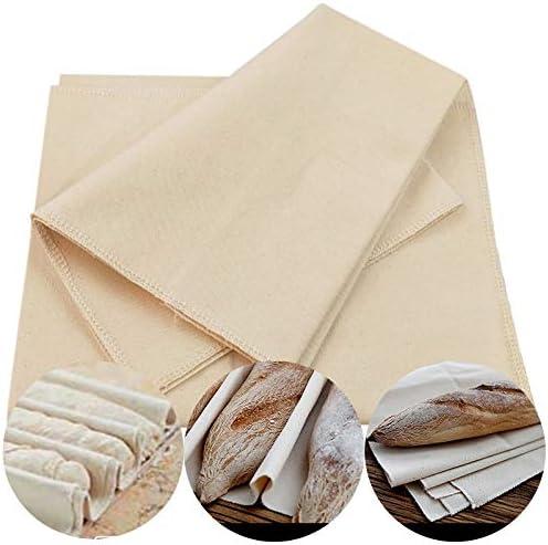 LCHB Linen Fermented Virginia Beach Mall Cloth Tulsa Mall Dough Bakers Bread Pans Bague Proving
