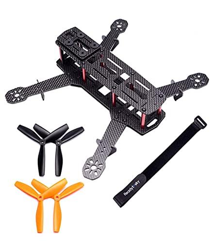 Readytosky 250mm FPV Racing Drone Frame 5 Inch Carbon Fiber Quadcopter Frame Kit with 4mm FPV Frame...