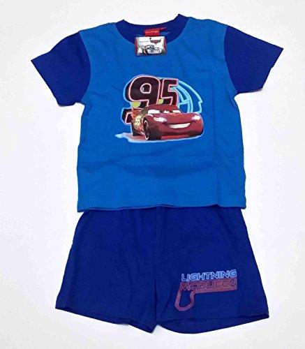 Complet Summer T-Shirt Manche Courte et Short Mickey Rouge 4 ans 4 - 5 anni bleu ciel