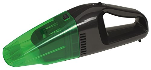 GreenTec Handstaubsauger Akkustaubsauger mit Umweltschonendem Li-ION Akku, beutellos, Handsauger Nass/Trocken Funktion, Kabelloser Autosauger mit starken 7,4V, 16W Motor
