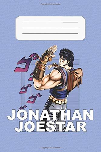 Jonathan Joestar: JoJo's Bizarre Adventure, Jonathan, 112 Lined Pages, 6 x 9 in, Anime Notebook Diamond