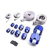 Bang4buck High Performance Blue Flex Braided Hose Clamp Sleeve Kit Stainless Steel Fuel Li...