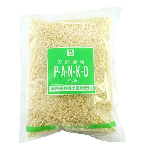 ムソー 国産有機小麦粉使用 天然酵母パン粉 150g  5袋