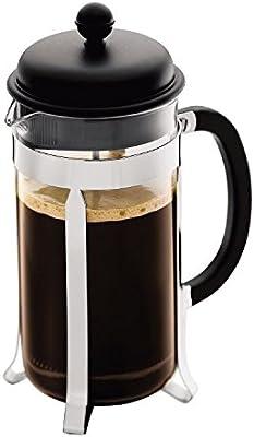Bodum Caffettiera Coffee Maker 8 Cup 1L 34 Oz Black (Pack of 2)