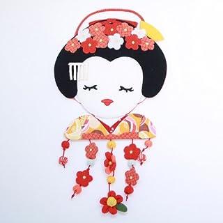 エムルーカンパニー 梅飾りの舞妓さんの変わり下げ飾り ちりめん細工館 招喜屋