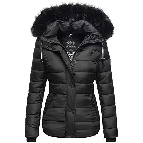 Navahoo warme dames winterjas parka mantel gewatteerde korte jas gevoerd B832