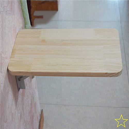 HRD Kleine Wand Klapptisch, Faltbare Wand Esstisch, Kompakt Eckregal, Für Schlafzimmer/Küche/Balkon/Waschküche