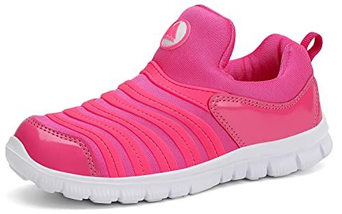 Mishansha Zapatillas de deporte para niños, para correr, para el tiempo libre, transpirables, ligeras, para correr por la calle., color, talla 33 EU