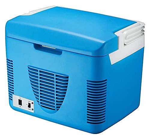 SHUHANG Refrigerador de automóviles de refrigerador termoeléctrico 10 litros Hot Hot Portable Portátil Caja de Fresco eléctrico 220V AC 12V DC (Size : 36X27X28cm)