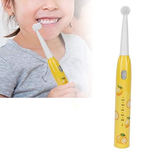 Cepillo de dientes para niños, recordatorio de dientes, cepillo de dientes eléctrico, memoria, encantador para viajes a casa para niños y niñas(lemon, Pisa Leaning Tower Type)