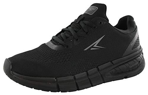powerful Turner T-Eddie Shoes-Men-Black / Black / Black, 11 …