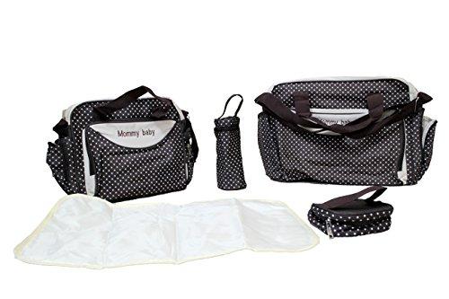 Multifunktions-Wickeltasche/Wickeltasche für Mütter, Handtasche, Braun