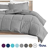 Bare Home Kids Comforter Set - Twin/Twin Extra Long - Goose Down...