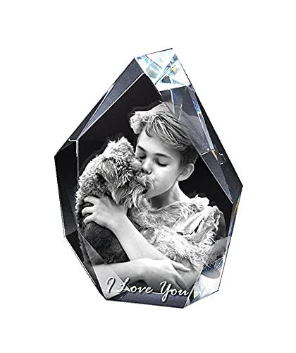 Marco de fotos personalizado Marco de fotos de cristal 3D Marco de...