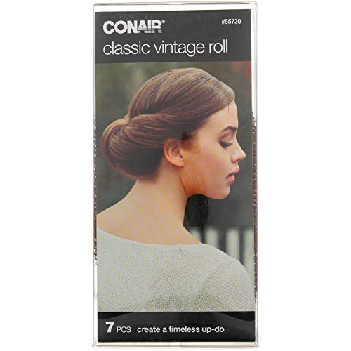 Conair 55730 Classic Vintage Hair Roll 7 Piece Kit
