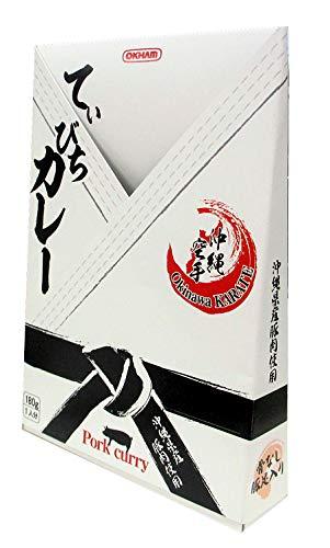 てぃびちカレー(沖縄空手パッケージ) 180g ×3箱
