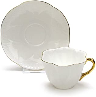 Regency by Shelley, China Cup & Saucer, Gold Trim