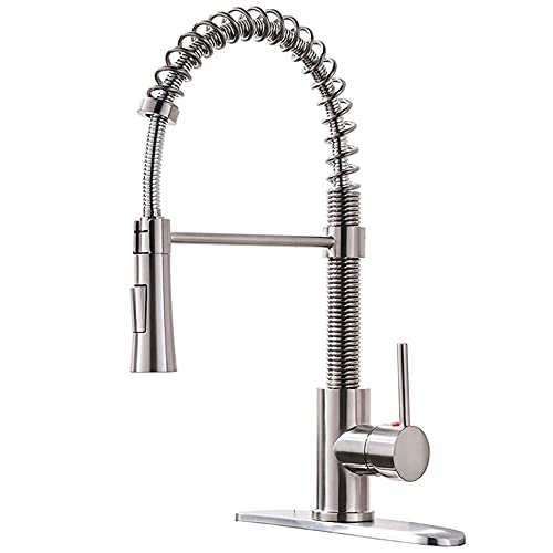 Kingo Home Lead Free Stainless Steel Kitchen Faucet