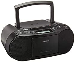 Image of Sony CFDS70-BLK CD/MP3...: Bestviewsreviews