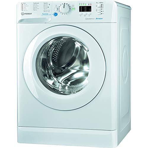 INDESIT BWA81484XWUKN 8kg 1400rpm Freestanding Washing Machine - White