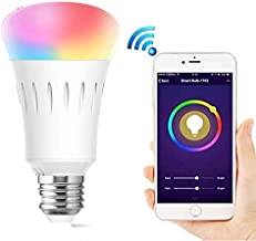 Wifi Control Smart Light Bulb Led Bulb Lights Home Use Bulbs Free App And Voice Control Compatible With Amazon Alexa And G...
