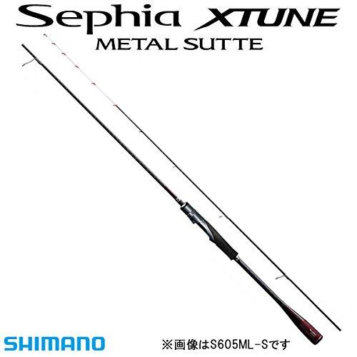 シマノ(SHIMANO) ロッド イカメタル セフィア エクスチューン メタルスッテ S605L-GS