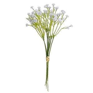Silk Flower Arrangements ALIKEE Artificial Flowers False Baby's Breath Simulation Flower Gypsophila Wedding Decor Birthday DIY Photo Floral Decor 10Pcs