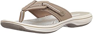 CLARKS Women's Brinkley Jazz Flip Flop