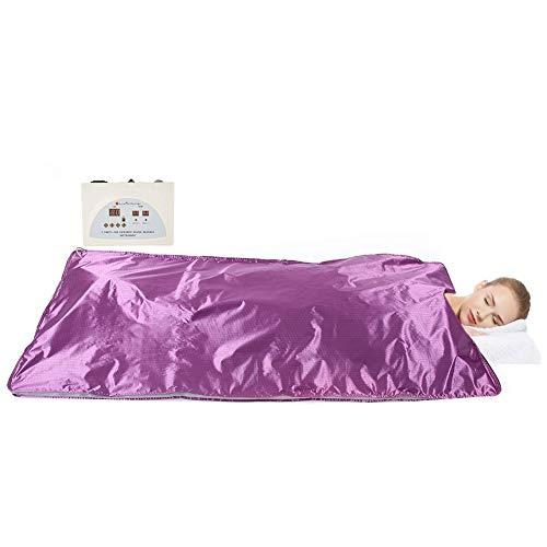 Infrarot-Decke - Weites Infrarot-Khan-Dampf-Decke, Sauna, die Decke abnimmt, entgiftet Schönheit, reduziert überschüssiges Körperfett und setzt Giftstoffe effektiv aus (EU-Stecker)