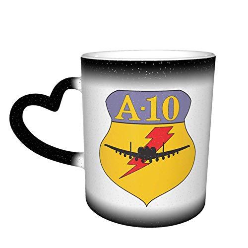 US A-10 Taza divertida Cerámica Cielo estrellado Taza que cambia de color Taza de café Taza de té