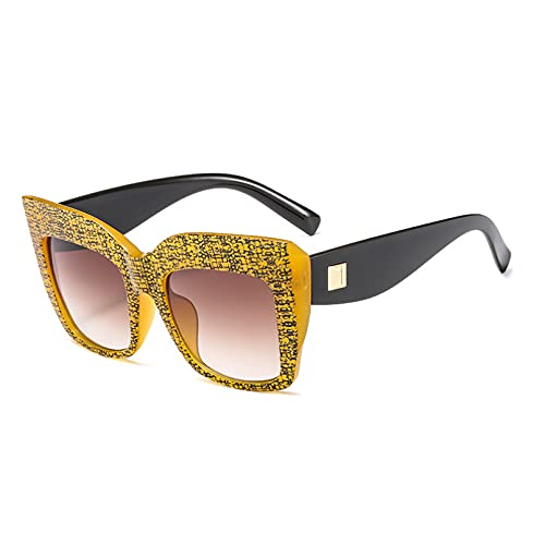 LUOXUEFEI Gafas De Sol Gafas De Sol Cuadradas Mujer Hombre Gafas De Sol Con Montura Grande Gafas De Sol Mujer