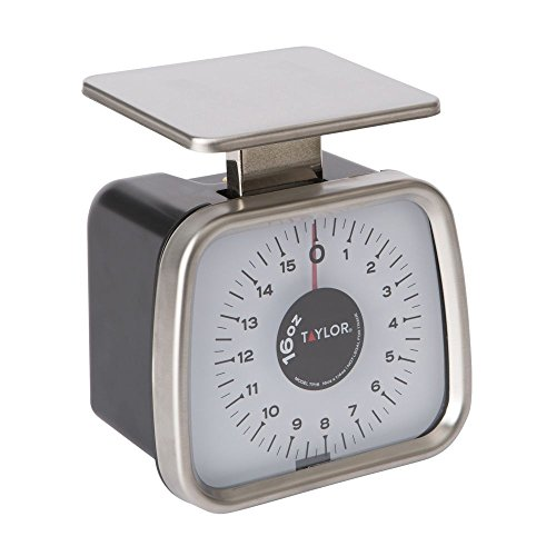 Taylor TP16 Mechanical SS Fixed Dial Portion Scale, 16 oz x 1/4 oz. (0.25 Ounce Mechanical Scale)